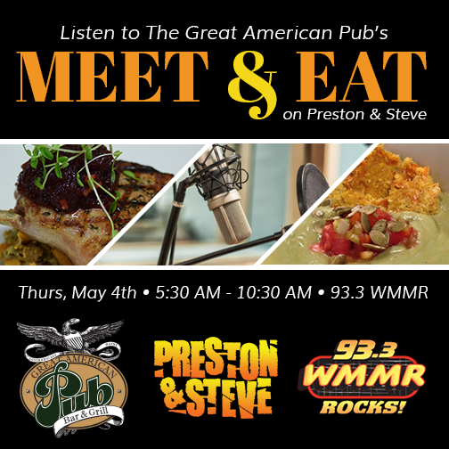 Listen to The Great American Pub's Meet & Eat on Preston & Steve