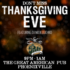 DJ Nick Luchko Thanksgiving Eve