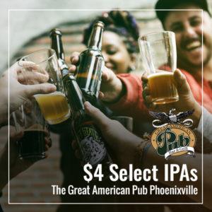 $4 Select IPAs