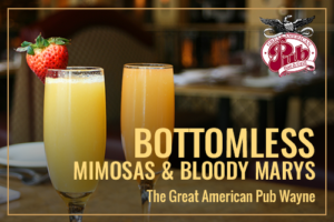 Brunch - Bottomless Mimosas & Bloody Marys!