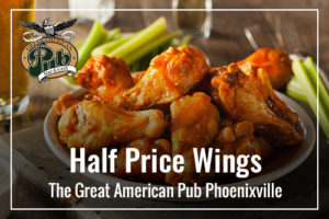 Half Price Wings
