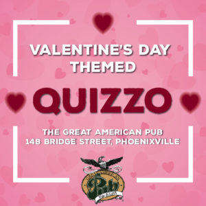 Valentine's Day Themed Quizzo with DJ Dan Shea